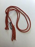 Rope Tassel Belt - Orange