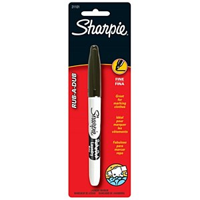 Sharpie-Rub a dub