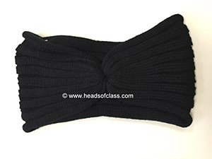 Ribbed Knit Headwrap