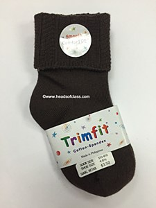 Trimfit Cotton Textured Turncuff For Boys And Girls 1125/12325