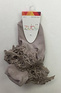 Zubii Ankle Sock with Ruffle