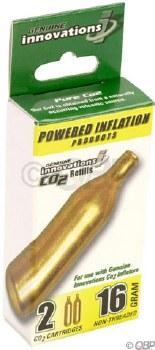 Genuine Innovations - 16g Threadless CO2 Cartridge Refills 2 Pack