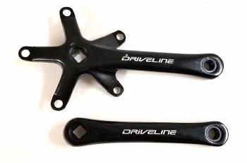 Driveline - Take-off Crankset Black