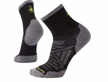 Smartwool - Men's PhD Run Cold Weather Mid Crew Socks