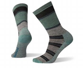 Smartwool - Men's Hike Striped Medium Crew Socks