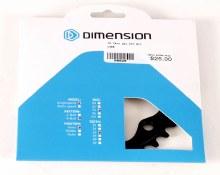 Dimension - Aluminum 74mm BCD Inner Chainring 26t
