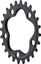 Dimension - 30t x 74mm Inner Chainring Black