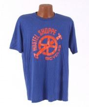 Hostel Shoppe - Men's Custom Bicycle Logo T-Shirt