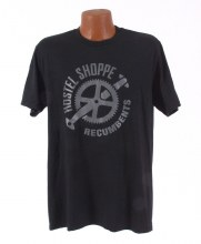 Hostel Shoppe - Men's Custom Recumbent Logo T-Shirt