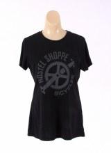 Hostel Shoppe - Women's Custom Bicycle Logo T-Shirt