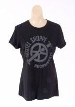 Hostel Shoppe - Women's Custom Recumbent Logo T-Shirt