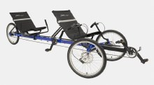 TerraTrike - Rover Tandem I8 with IPS Pedaling