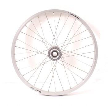 TerraTrike - Silver Front Disc Wheel 406mm Schraeder