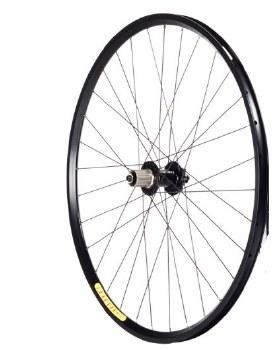 "Velocity - Aeroheat Front Disc 26"" Wheel"