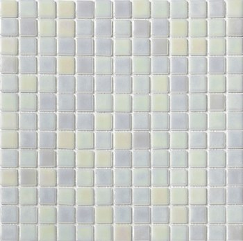 "Platino Pearl Mosaic 1X1"" on 13.25X13.25"" Sheet"