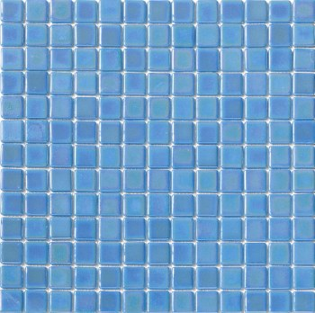 "Platino Glacial Mosaic 1X1"" on 13.25X13.25"" Sheet"
