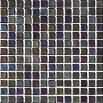 """Platino Night/Noche Mosaic 1X1"""" on 13.25X13.25"""" Sheet"""