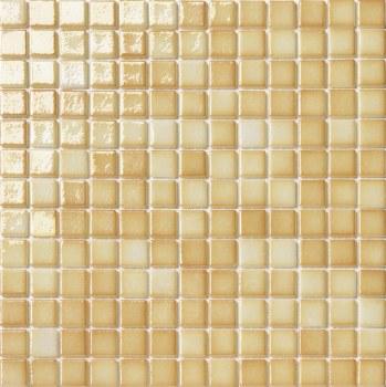 "Titanio Caramel Mosaic 1X1"" on 13.25X13.25"" Sheet"