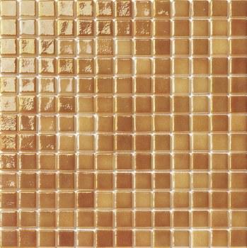 "Titanio Cinnamon Mosaic 1X1"" on 13.25X13.25"" Sheet"