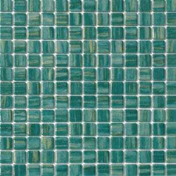 "Cosmos Green Mosaic 1X1"" on 13.25X13.25"" Sheet"