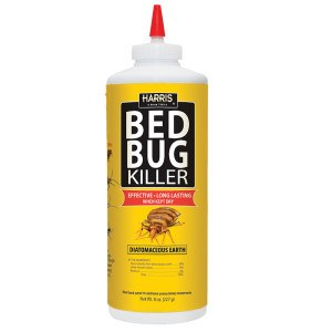 Beg Bug Killer, Diatomaceous Earth Powder, 8oz., HDE-8