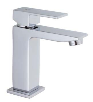 Mz Single Lever Cubic Faucet In Chrome Linda Home Center