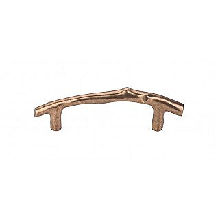 "Aspen Twig Pull 3.5""cc in Light Bronze"
