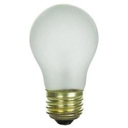 Sunlite 40 Watt A15 Appliance, Medium Base, Frost, 40A15/FR/CD1