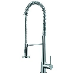"Spring Kitchen Faucet 24"", in Polished Chrome"