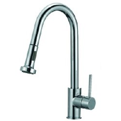 Pull-Down Kitchen Faucet, in Chrome