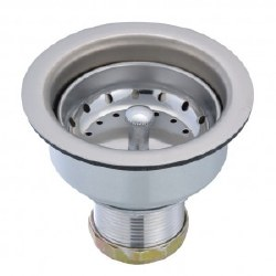 Basket Strainer Stainless Deep Cup