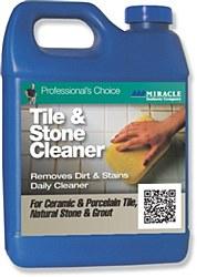 Miracle Tile & Stone Cleaner Qt., TSC 6/1 QT