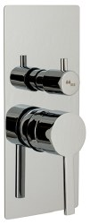 MZ Bress Trim Only, Tub/Shower, in Chrome, Rough-in Sold Separately