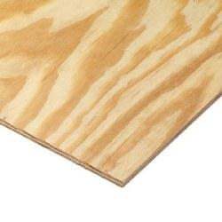 "RTD Sheathing 15/32 (1/2"") Plywood per sheet"
