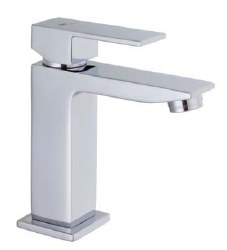 MZ Single Lever Cubic Faucet in Chrome