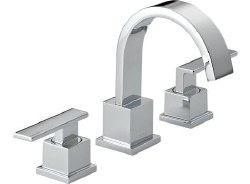 VERO Two Handle Widespread Lavatory Faucet, in Polished Chrome