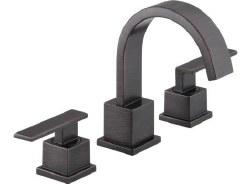 VERO Two Handle Widespread Lavatory Faucet, in Venetian Bronze