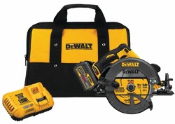 Circular Saw, FLEXVOLT, DCS575T1, 60V Battery, 7-1/4 in Dia Blade