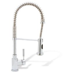 Meridian Semi-Pro Spring Faucet, in Polished Chrome, 2.2GPM