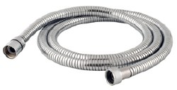 MZ Extensible Flexible Hose with Conical Connections for Handshower in Chrome