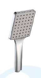 Handshower Square, 1 position, in Polished Chrome