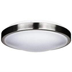 "Ceiling Fixture 14"" 23 Watt LED Decorative Band Trim, Brushed Nickel Finish Energy Star"