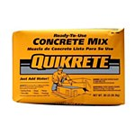 Quikrete Concrete Mix 80lb. Bag in Grey