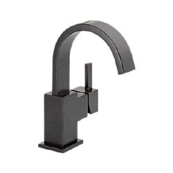 Delta Vero Single Handle Centerset Lavatory Faucet in Venetian Bronze