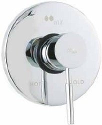 Minima Shower Only Trim, in Chrome, Rough-in sold separately