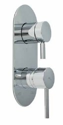 Minima Pressure Balance Valve and Trim with built-in diverter in Polished Chrome