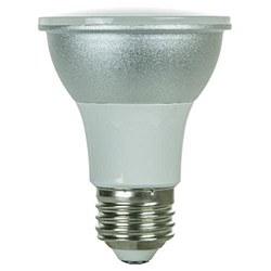Sunlite PAR20 LED Reflector, 500 Lumens, Medium Base, Warm White,  PAR20/LED/6W/WW