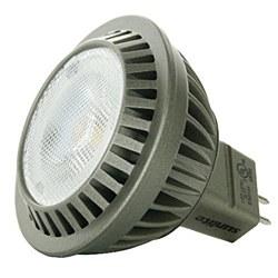 Sunlite MR16 Mini LED Reflector, 330 Lumens, GU5.3 Base, Warm White, MR16/LED/6.5W/GU5.3/12V/WW/D