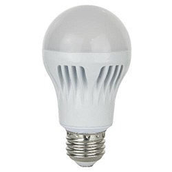 Sunlite A Type Household LED, 750 Lumens, Medium Base, Warm White, A19/9W/30K/CD1