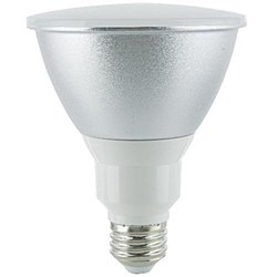 Sunlite PAR30 LED Reflector, 600 Lumens, Medium Base, Warm White, PAR30/LED/9W/D/WW